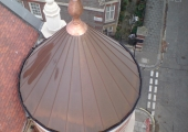 contemporary decorative and special works copper finial vincent square 3