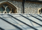 contemporary lead roofing kingston church 2