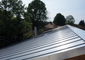 contemporary stainless steel roofing guildford 3