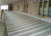 contemporary stainless steel roofing wye church kent