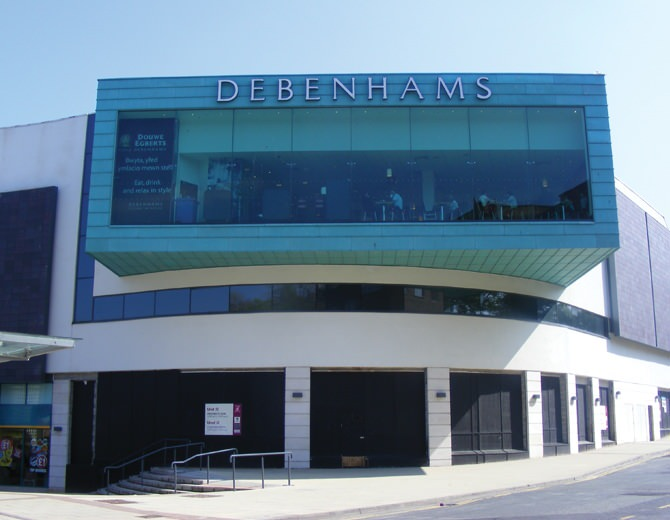 contemporary copper roofing debenhams bangor 3